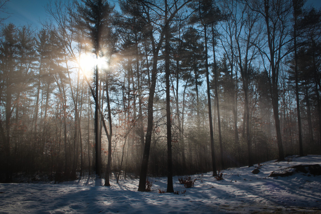 NH Winter Sunrise by Bryan Paepke