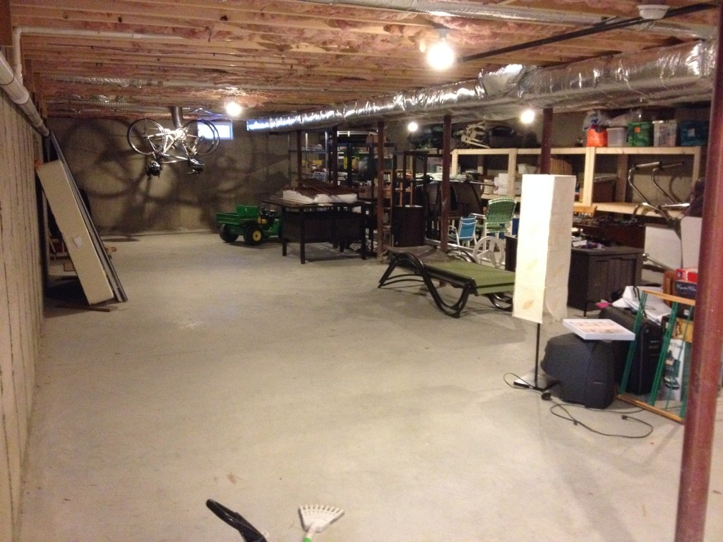 Basement - Step 1
